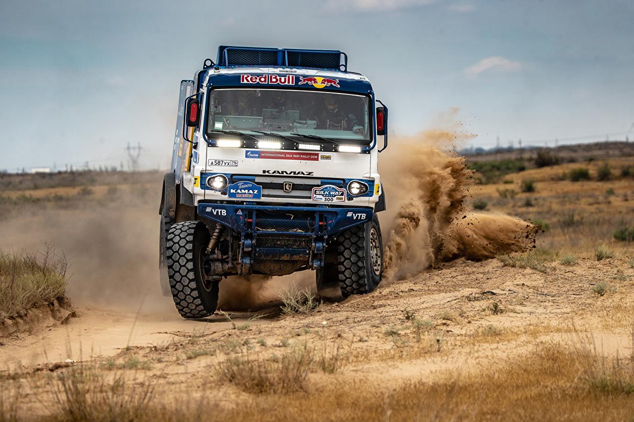 Обои грузовик, гонка. Автомобили foto 9