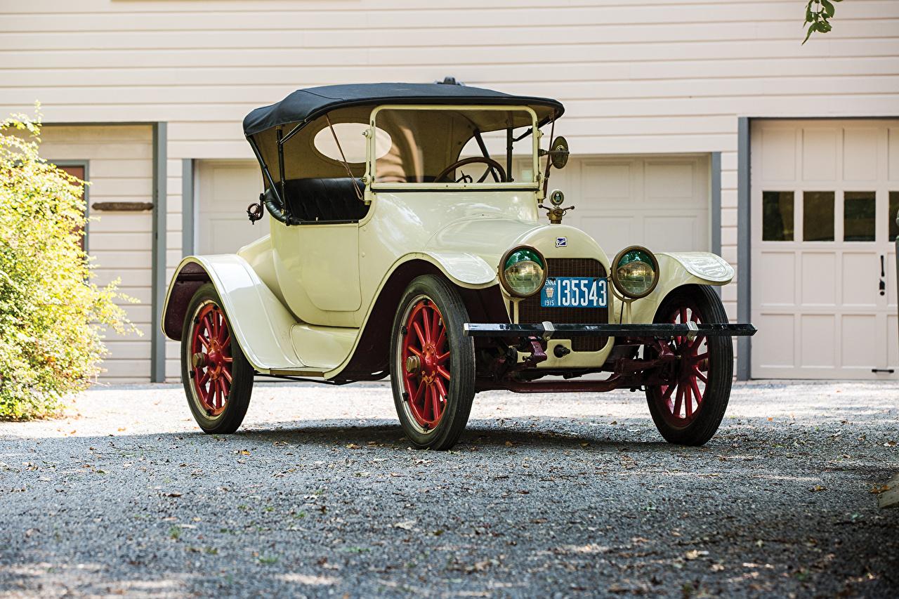 Фотография Бьюик 1915 Model C-36 Roadster Родстер Ретро Авто Металлик Buick Винтаж старинные Машины Автомобили