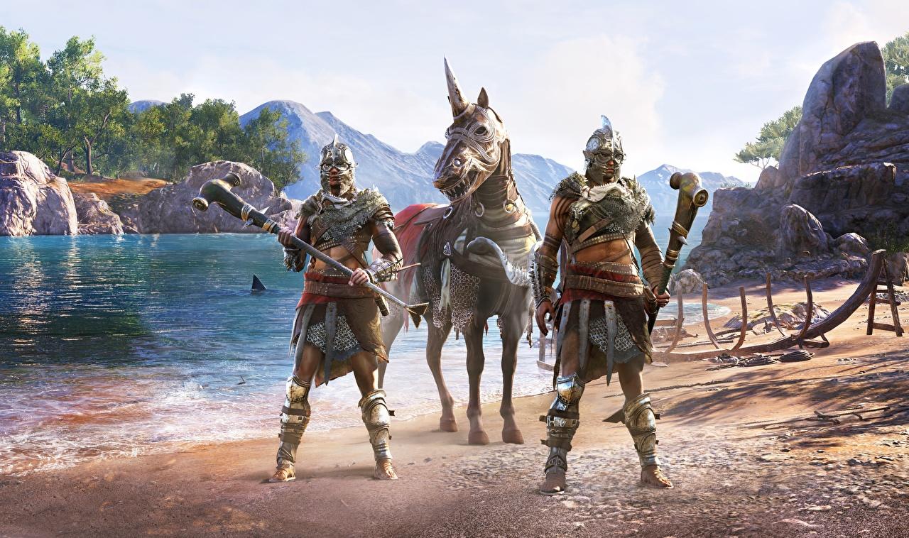 Фотография Assassin's Creed Odyssey Воители DLC Игры воин воины компьютерная игра