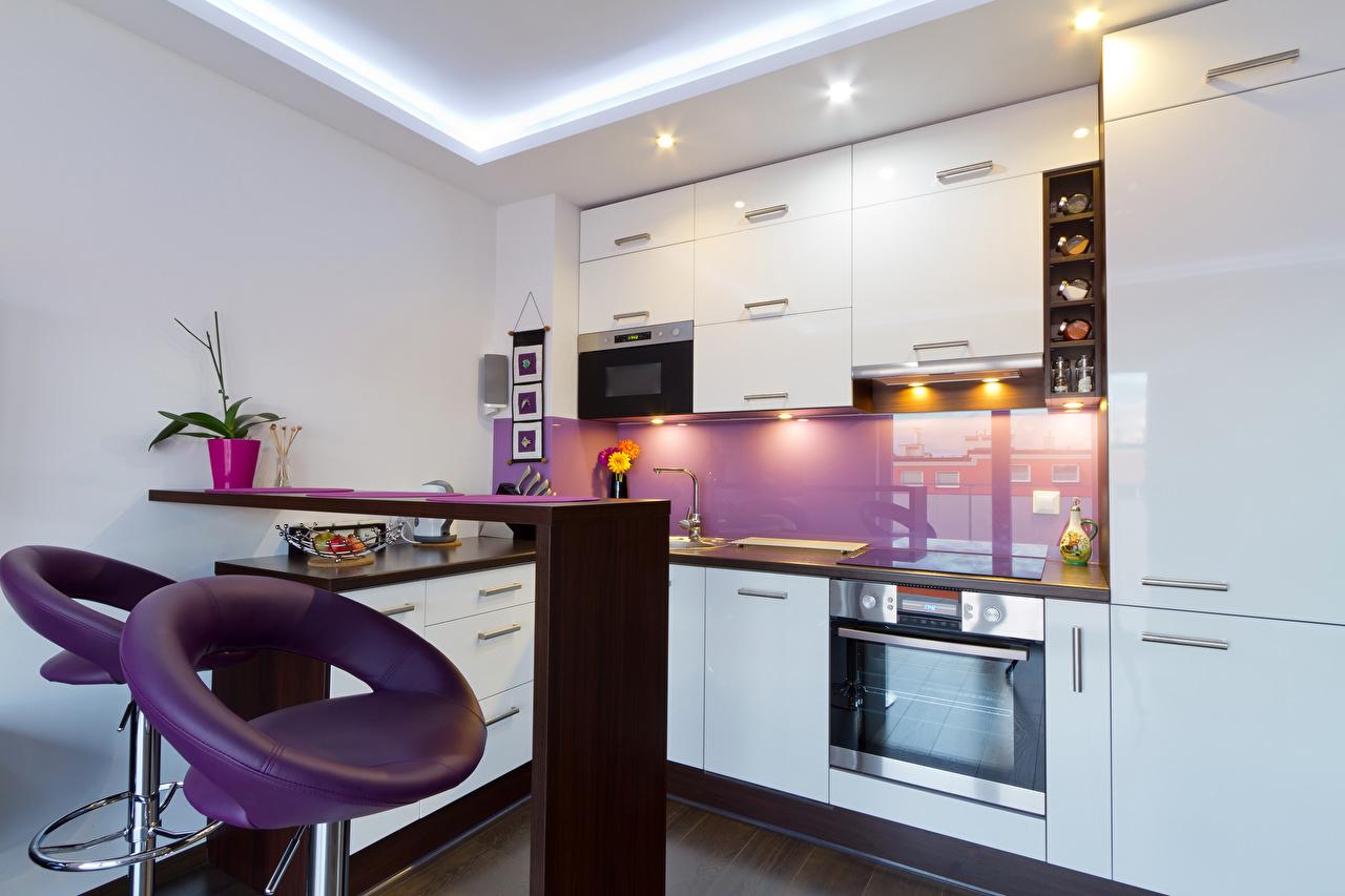 Картинки Кухня Интерьер Кресло дизайна кухни Дизайн