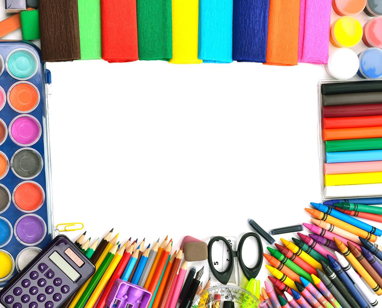 Фото Канцелярские товары Школа карандашей Шариковая ручка Разноцветные Шаблон поздравительной открытки школьные карандаш Карандаши карандаша