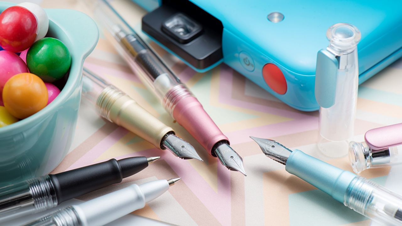 Фотография Шариковая ручка Крупным планом вблизи