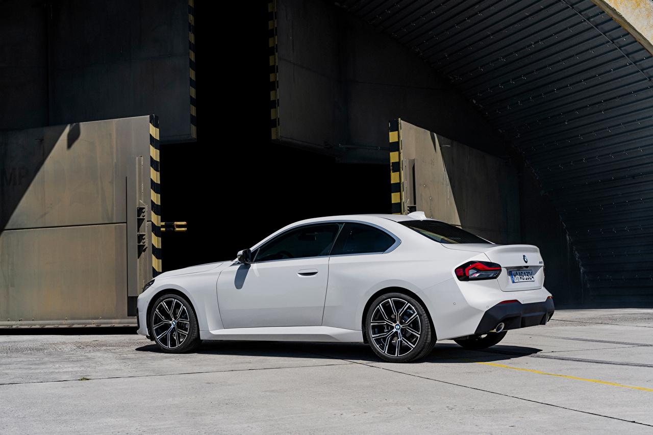 Картинки BMW 220i Coupe, (Worldwide), (G42), 2021 Купе Белый машина Металлик БМВ белая белые белых авто машины Автомобили автомобиль