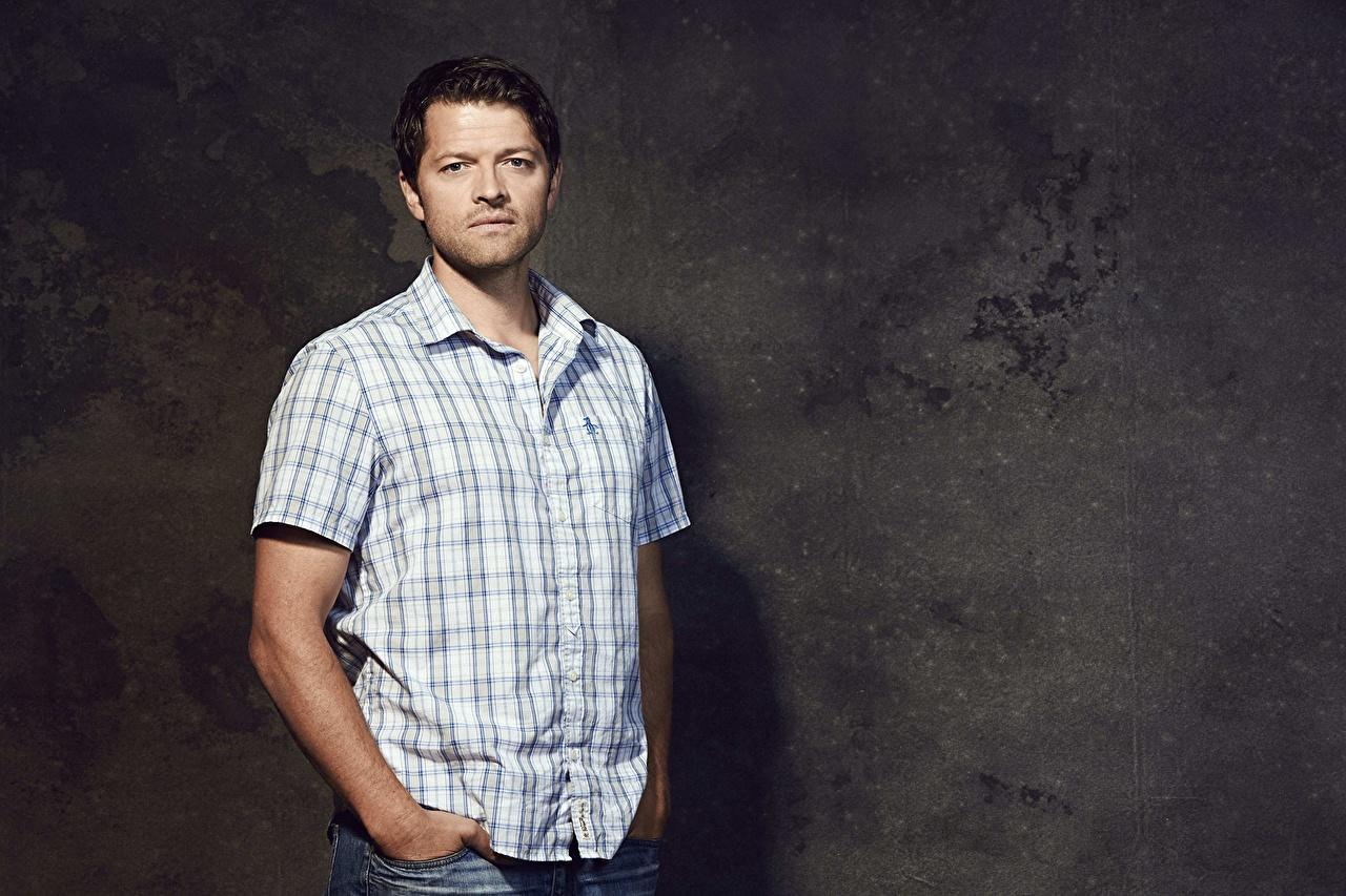 Фотографии Сверхъестественное мужчина misha collins рубашки Знаменитости Мужчины рубашке Рубашка
