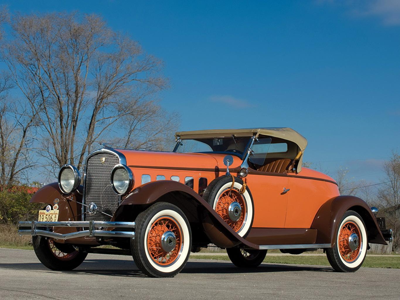 Фотография 1931 Hudson Greater Eight Sport roadster Series T Родстер старинные Автомобили Ретро винтаж авто машина машины автомобиль