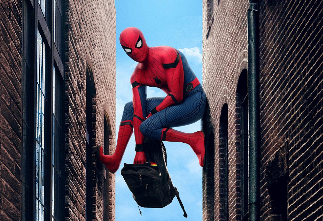 Фотографии Человек-паук: Возвращение домой супергерои Человек паук герой кино Герои комиксов Фильмы