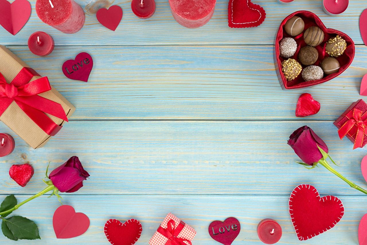 Картинки Сердце Конфеты Цветы Свечи Шаблон поздравительной открытки Доски серце сердца сердечко цветок