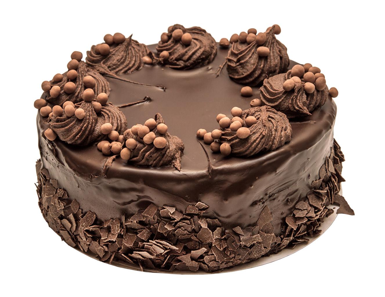 Обои Шоколад Торты Продукты питания Сладости Белый фон Дизайн Еда Пища