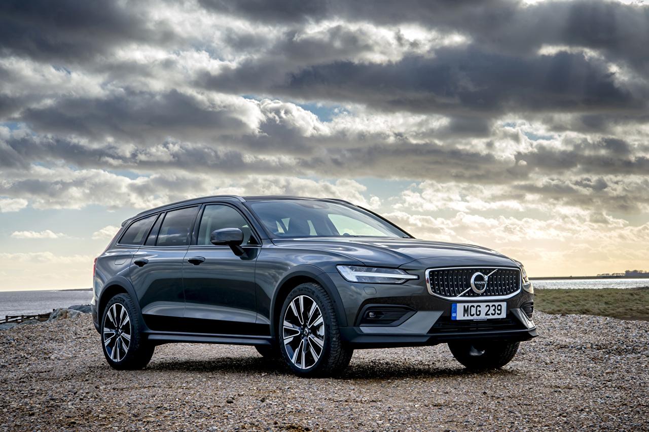 Картинка Volvo Универсал 2019 V60 D4 Cross Country автомобиль Вольво авто машина машины Автомобили