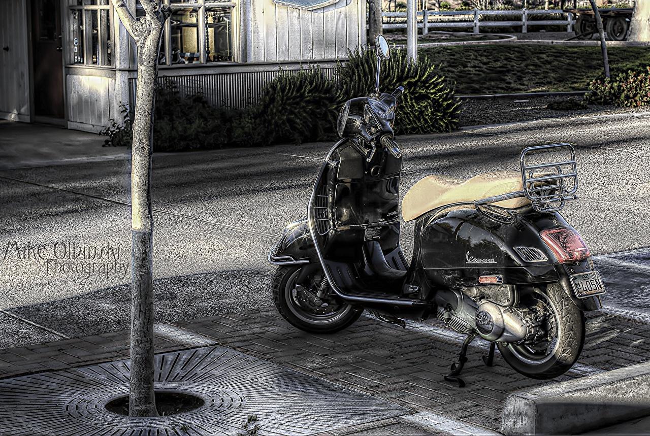 Фото Скутер Мотоциклы Мотороллер мотоцикл