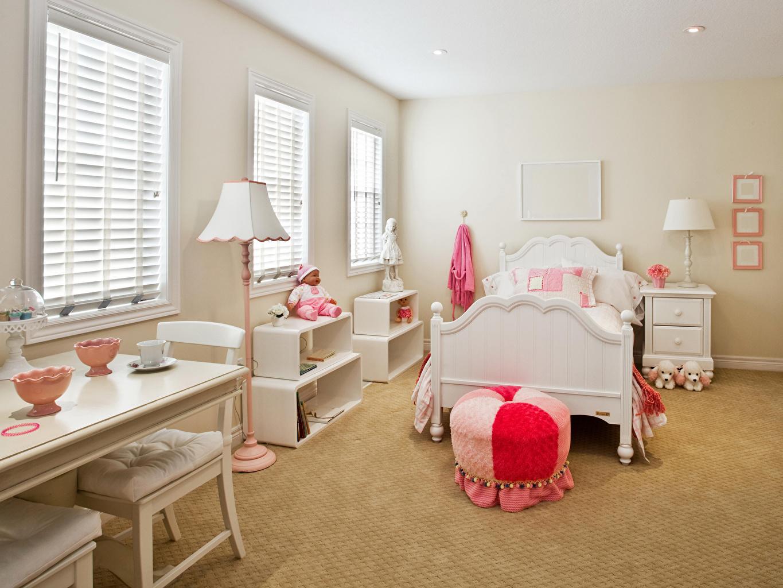 Фотография Детская комната Интерьер лампы кровати дизайна ламп Лампа постель Кровать Дизайн