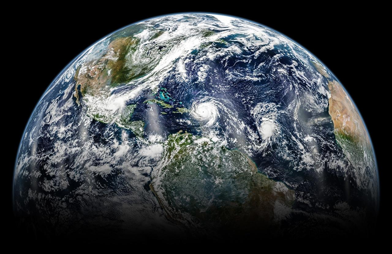 Фотографии Земля Космос земли