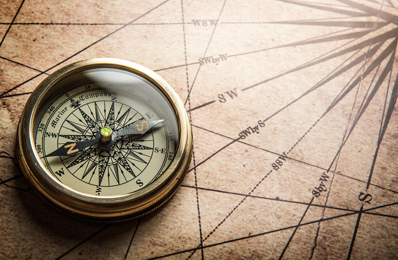 Картинки Компас вблизи География компаса Крупным планом