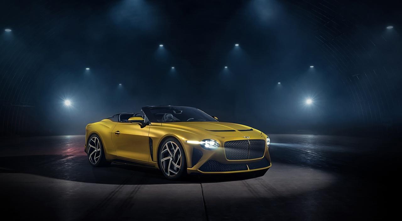 Фотографии Bentley Mulliner, Bacalar, 2020 Родстер дорогой желтые авто Бентли дорогие дорогая люксовые Роскошные роскошный роскошная желтая Желтый желтых машина машины Автомобили автомобиль