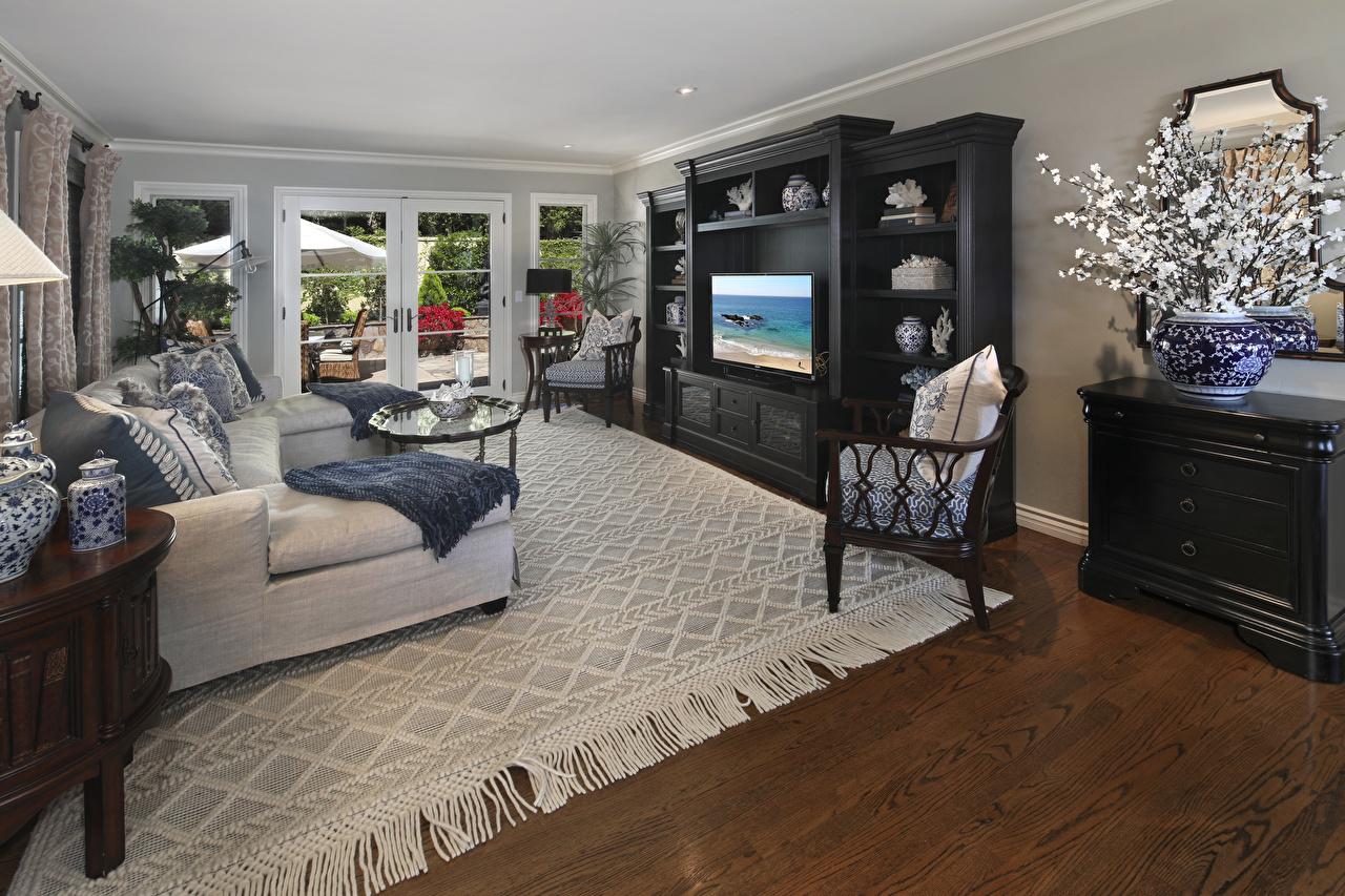 Картинки Гостиная Интерьер ковра диване дизайна гостевая ковры Ковер Диван ковров Дизайн