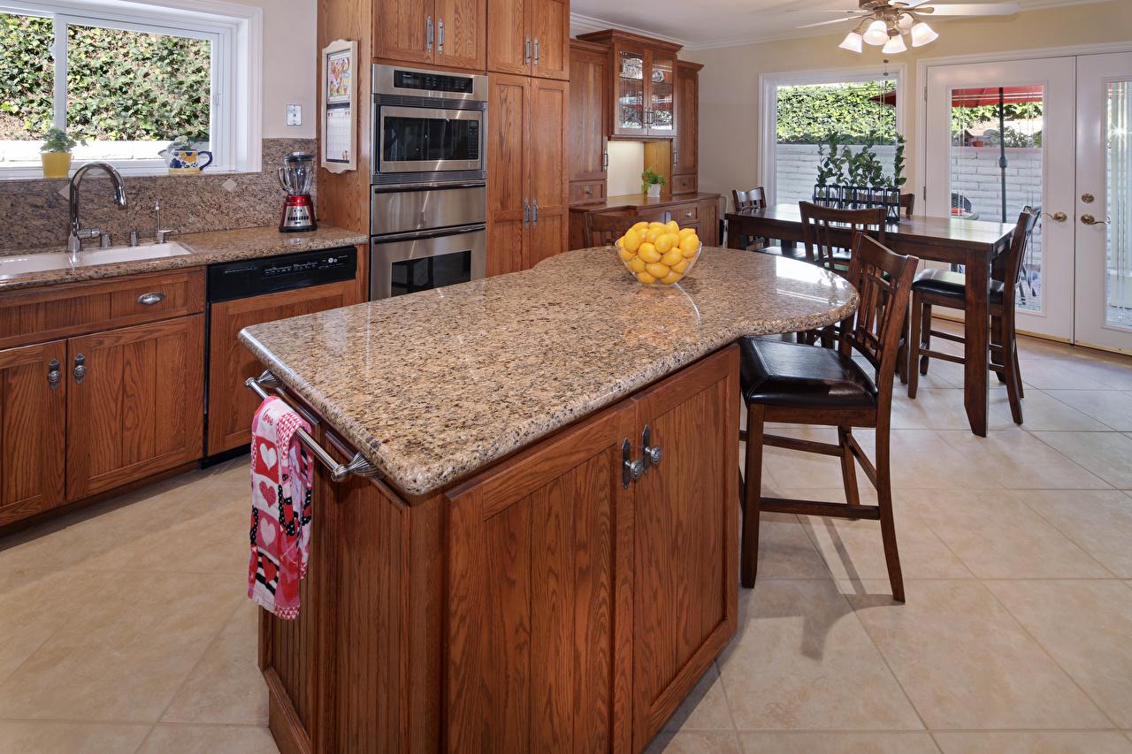 Фотография кухни Интерьер столы Стулья Дизайн Кухня стул Стол стола дизайна