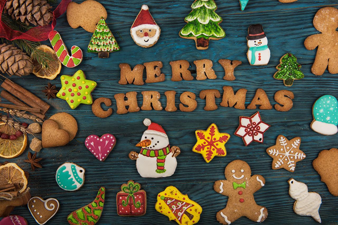 Картинки Рождество Английский Снежинки Снеговики Еда шишка Печенье Доски дизайна Новый год инглийские английская снежинка снеговик снеговика Пища Шишки Продукты питания Дизайн