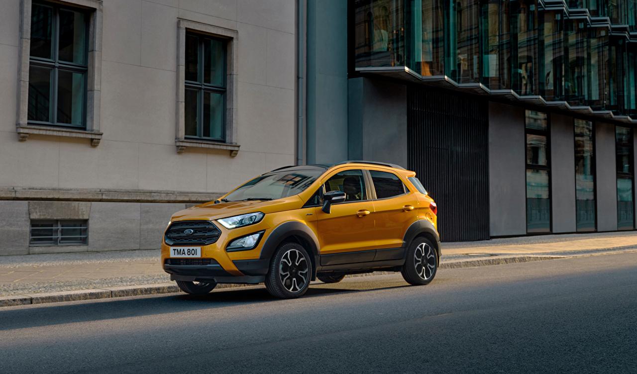 Фото Ford Кроссовер EcoSport Active, 2020 Металлик Автомобили Форд CUV авто машины машина автомобиль