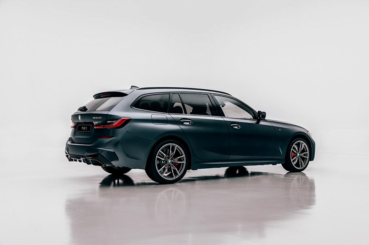 Обои для рабочего стола БМВ Универсал M340i xDrive Touring, Worldwide, G21, 2020 авто Сбоку Металлик BMW машина машины Автомобили автомобиль