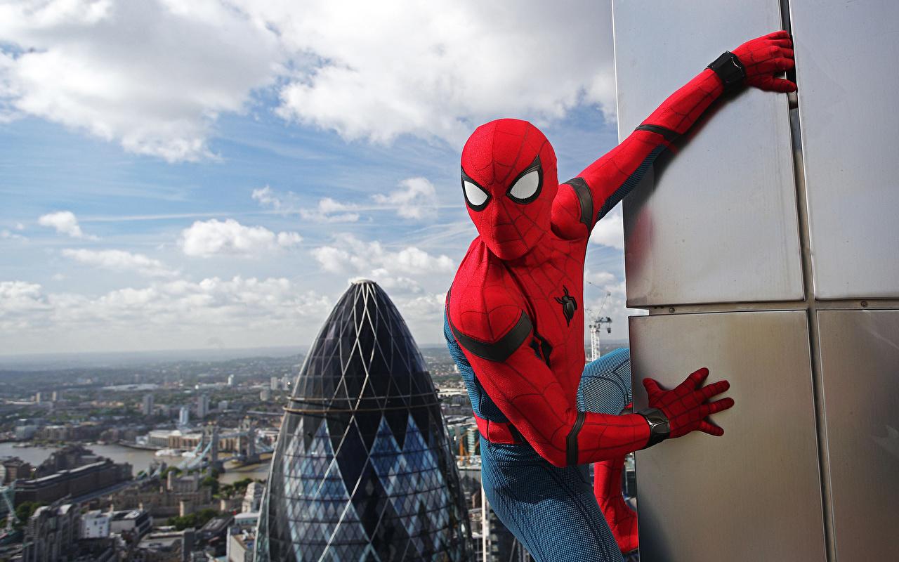 Картинка Человек-паук: Возвращение домой Герои комиксов Человек паук герой Фильмы супергерои кино