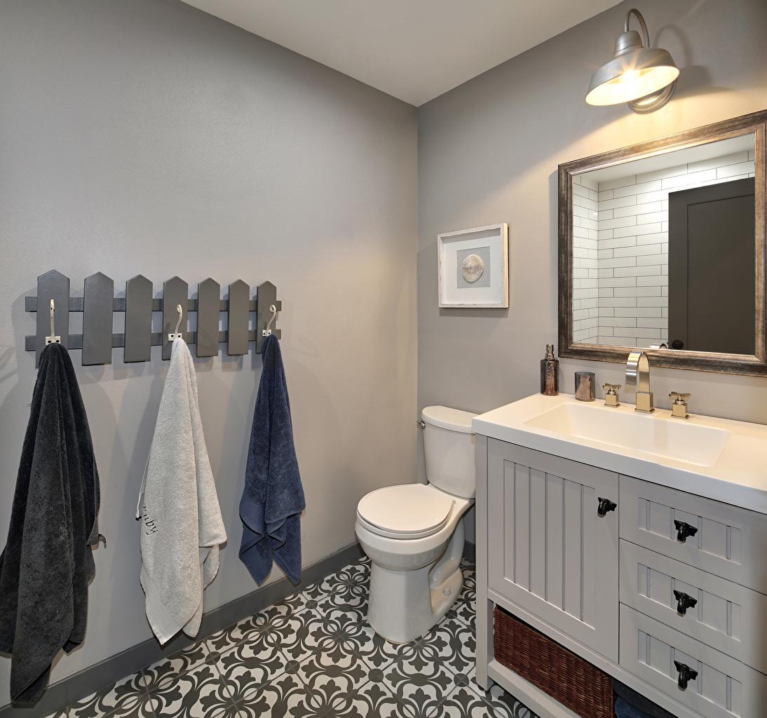Фотография Туалет Интерьер зеркал Дизайн туалете туалета туалетная комната Зеркало зеркала дизайна
