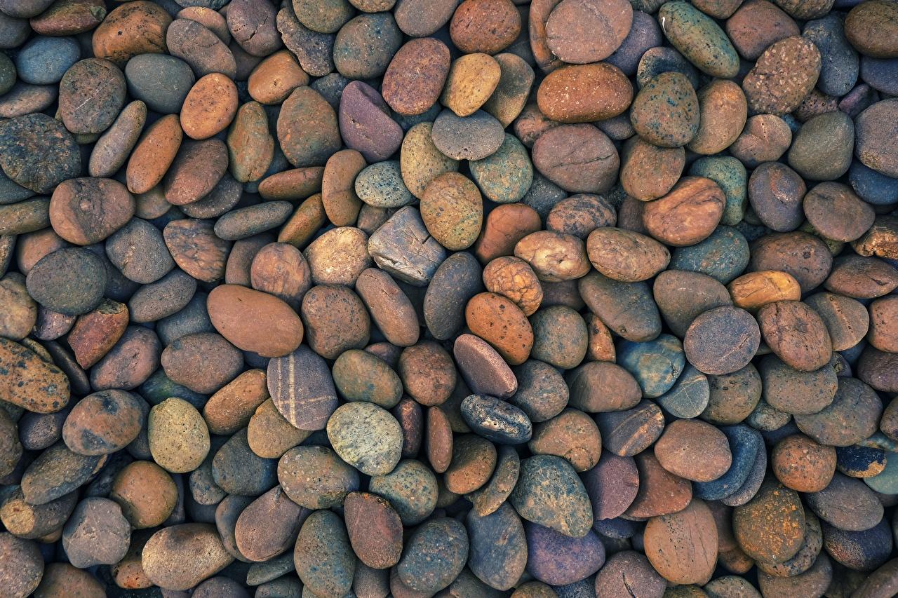 Обои для рабочего стола Текстура Камни Много Камень