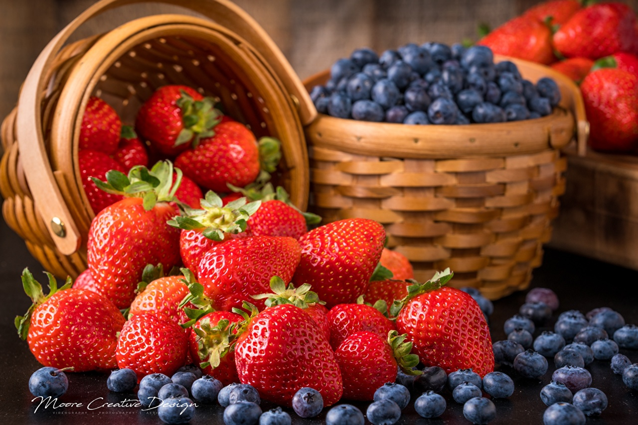 Обои ягода, клубника. Еда foto 7