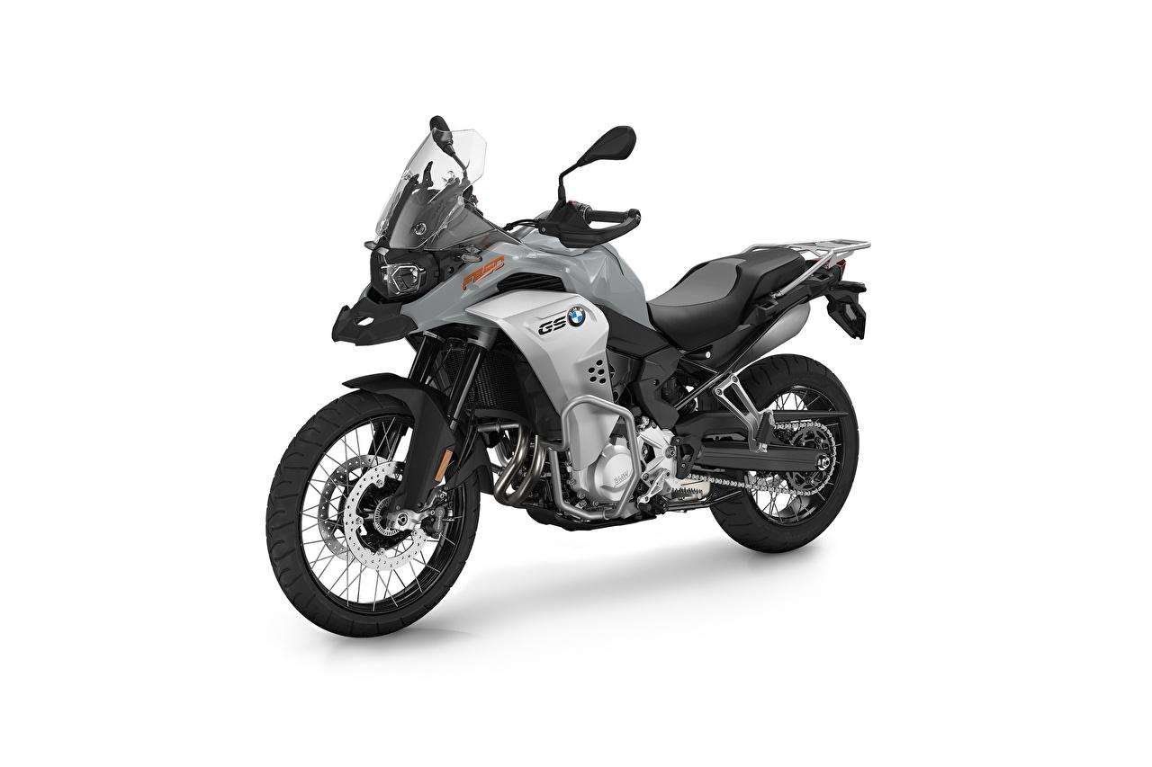 Фотографии BMW - Мотоциклы F 850 GS Adventure, 2020 Мотоциклы Сбоку Белый фон БМВ мотоцикл белом фоне белым фоном