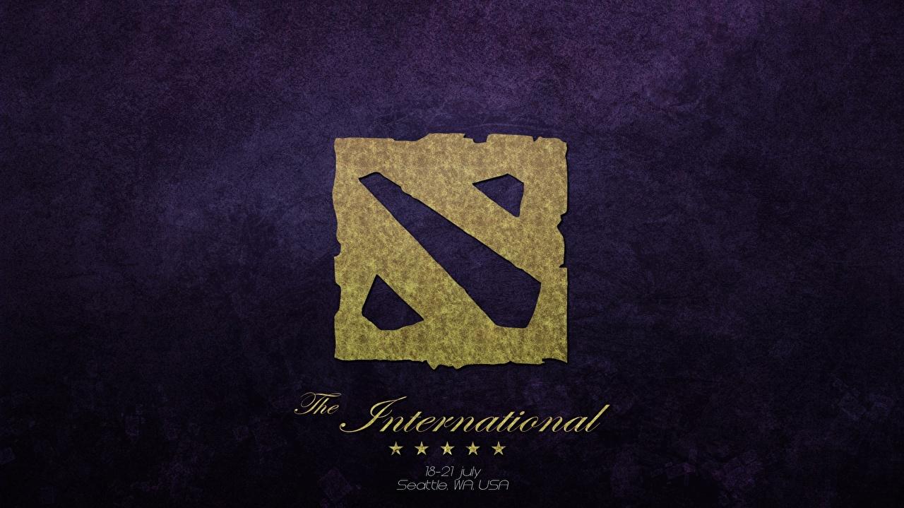 Фотография DOTA 2 Логотип эмблема The International 2014 Игры компьютерная игра