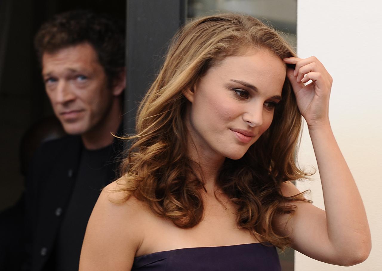 Обои для рабочего стола Натали Портман Знаменитости Natalie Portman