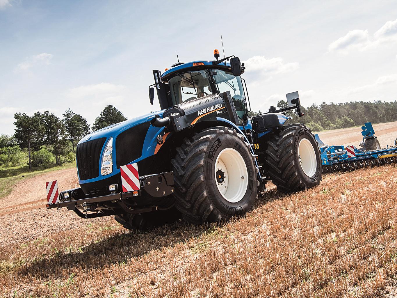 Картинка Сельскохозяйственная техника трактора 2015-19 New Holland T9.565 Трактор тракторы