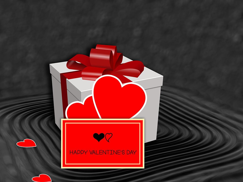 Картинка День святого Валентина Английский Сердце 3D Графика Подарки Бантик День всех влюблённых сердечко