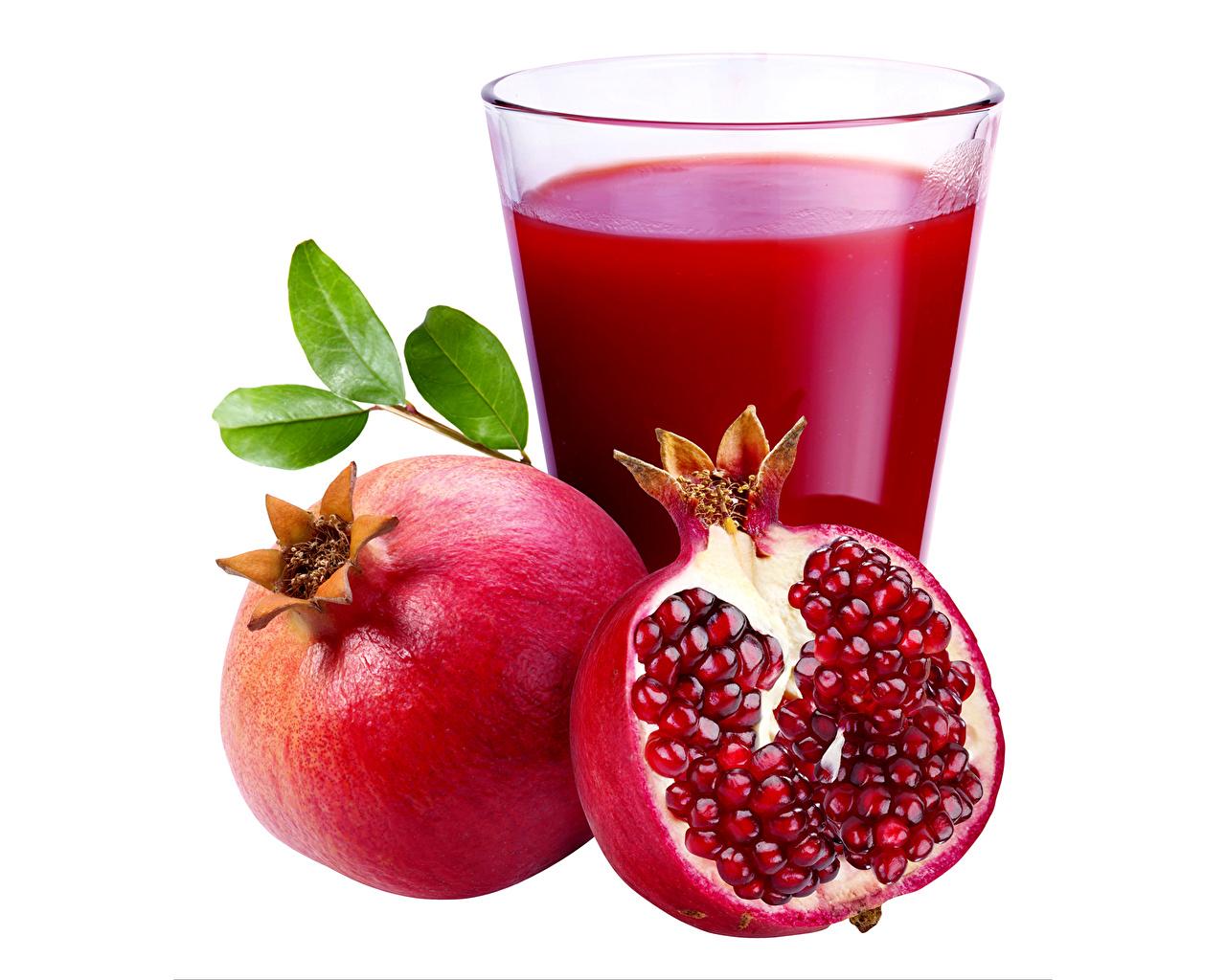 Фото Сок Гранат Стакан Пища Напитки стакане стакана Еда Продукты питания напиток