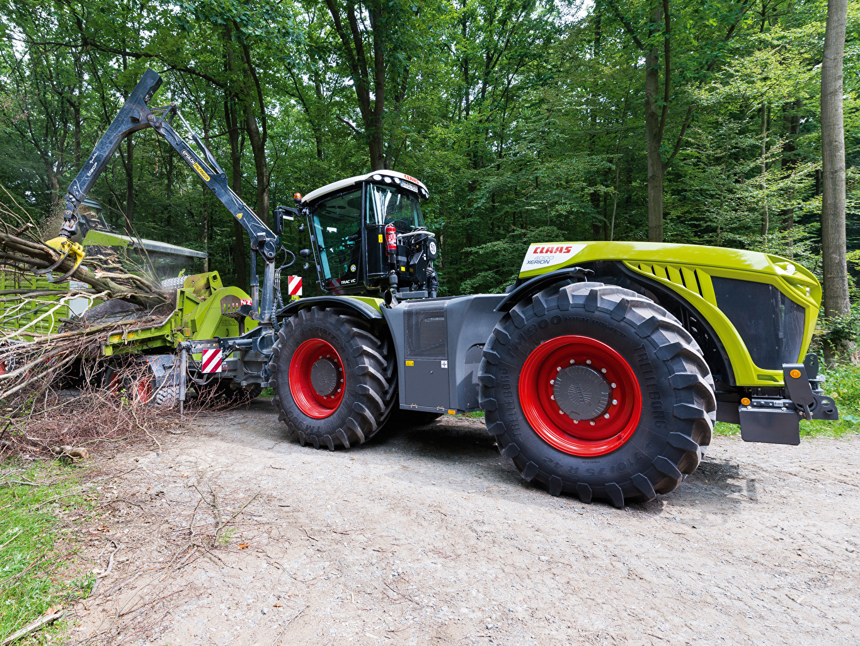 Фото Вилочный погрузчик трактора 2014-20 Claas Xerion 4000 Trac VC Worldwide Трактор тракторы