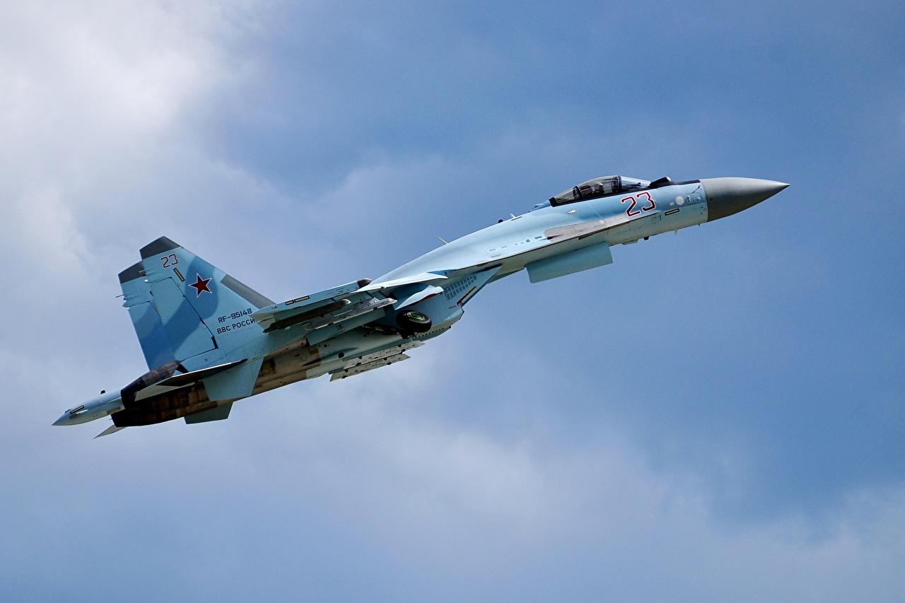 Обои Su-35S, Самолёт. Авиация foto 17