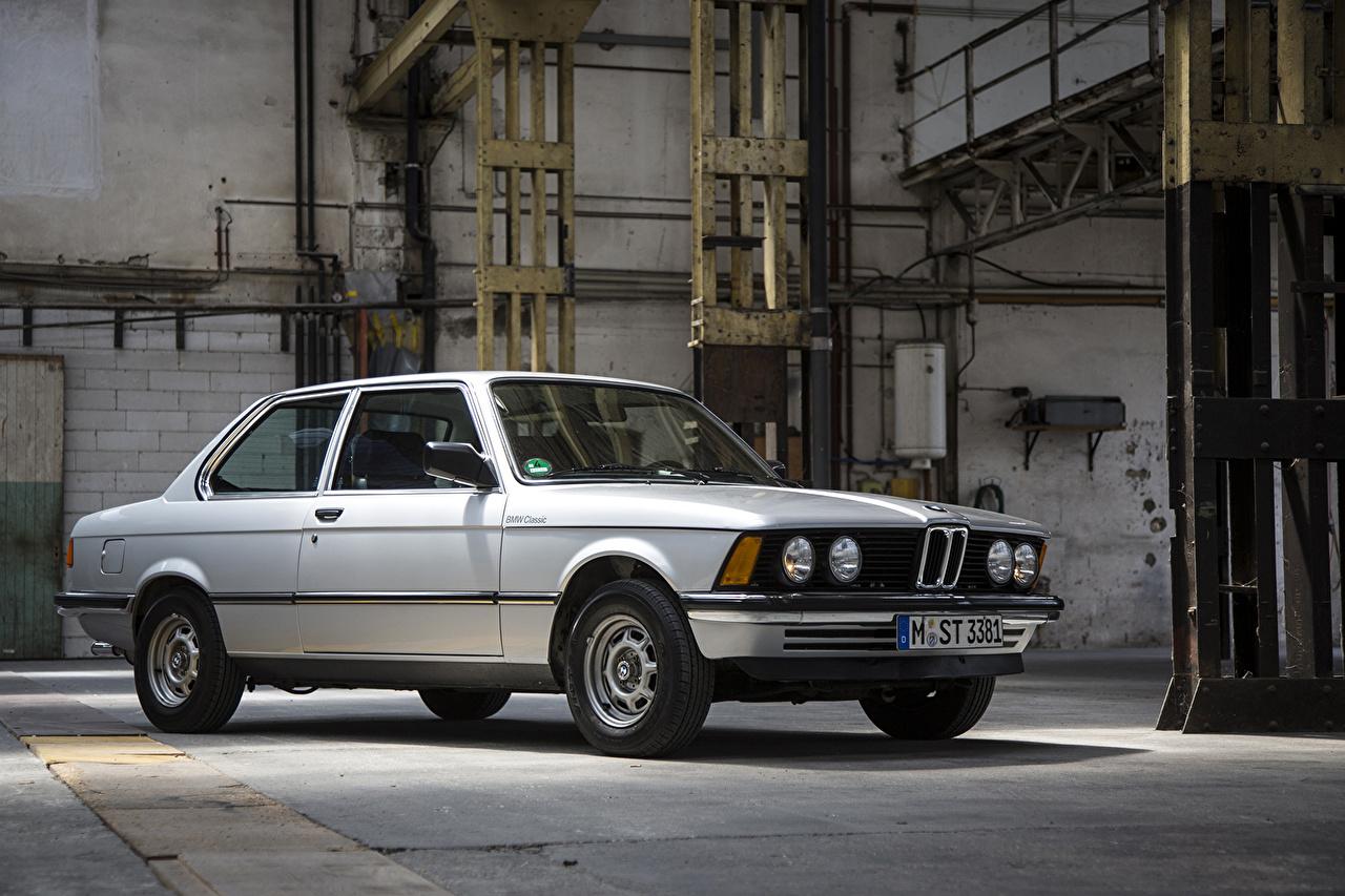 Фотографии БМВ 1978-82 323i Coupe Worldwide Ретро серебристая машины BMW винтаж старинные серебряный серебряная Серебристый авто машина Автомобили автомобиль