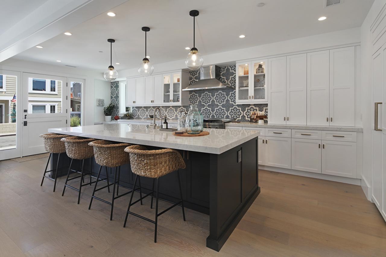 Фотографии Кухня потолка Интерьер стул Стол дизайна кухни Потолок стола столы Стулья Дизайн
