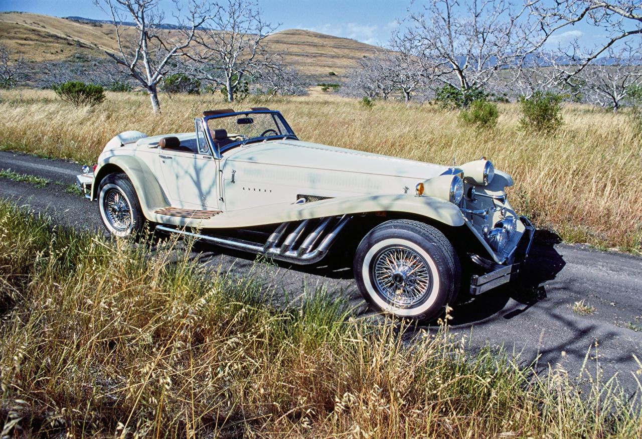 Фото 1976-79 DiMora Clenet Series I Родстер Ретро Авто Винтаж старинные Машины Автомобили