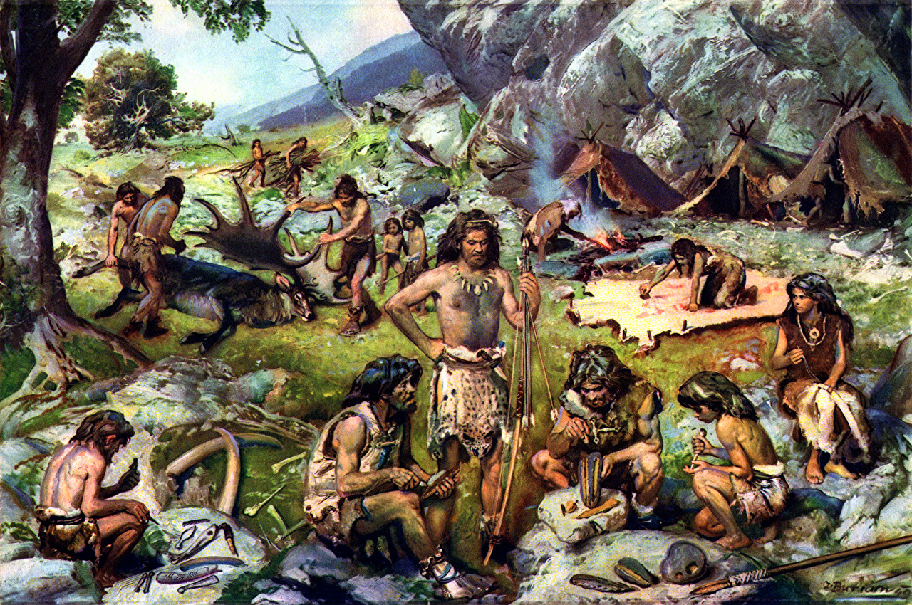 the significance of sex in religion during the ancient paleolithic and neolithic periods
