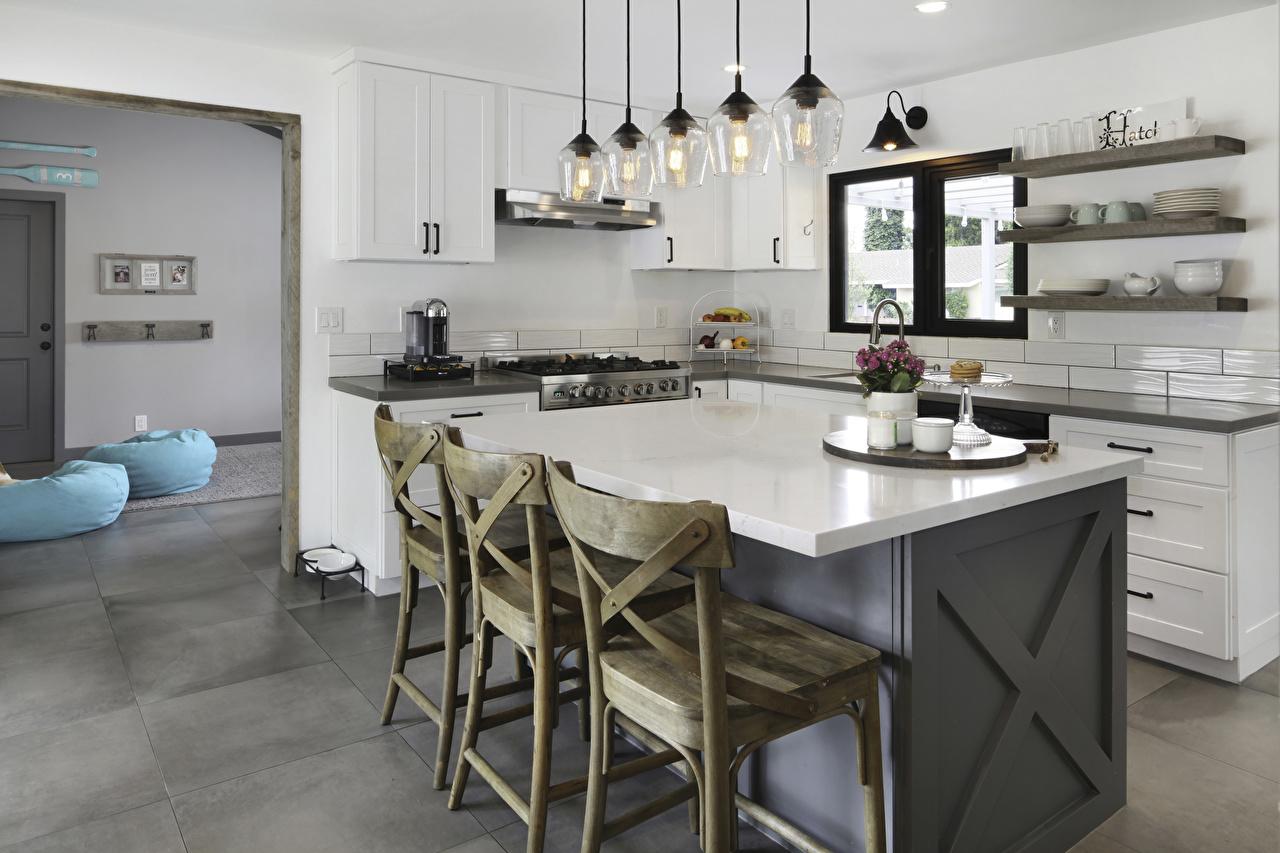 Обои для рабочего стола кухни Интерьер Стол стул Дизайн Кухня столы стола Стулья дизайна