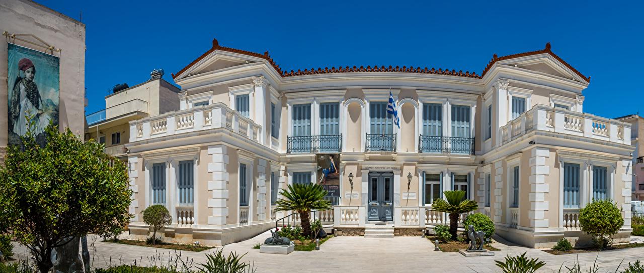 Фотография Греция National Gallery Nafplion Annex Здания Города Ландшафтный дизайн Дома город