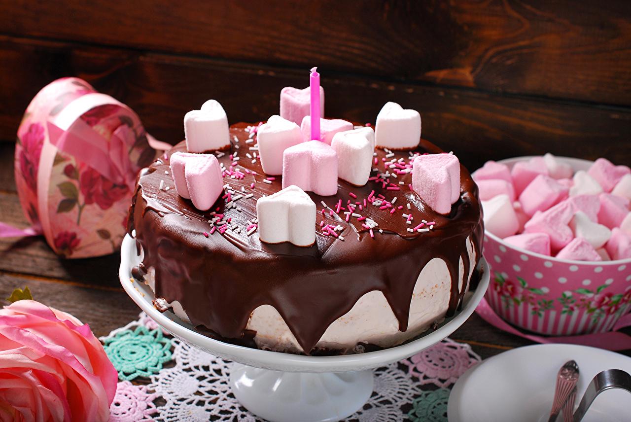 Фотографии Шоколад Торты Маршмэллоу Еда Сладости зефирки Пища Продукты питания сладкая еда