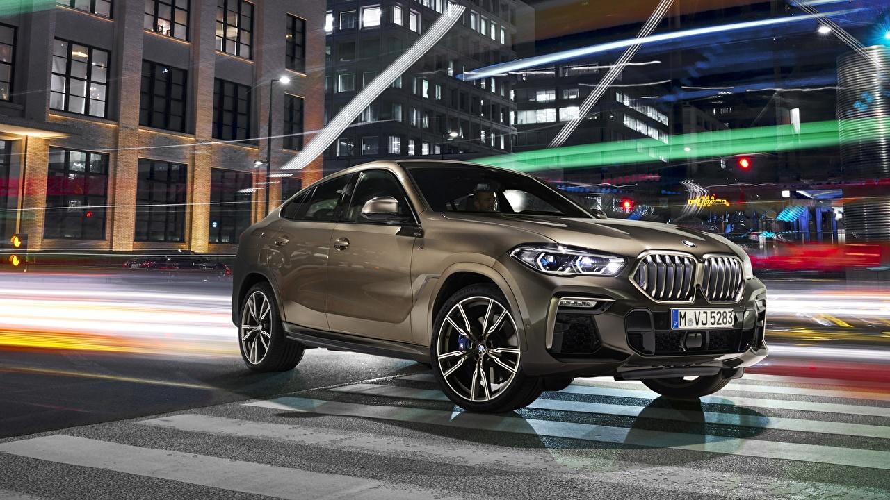 Фото БМВ CUV X6 2019 M50i авто BMW Кроссовер машина машины Автомобили автомобиль