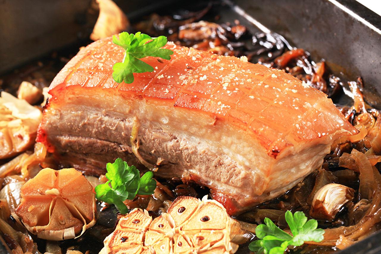Фото Еда вблизи Мясные продукты Пища Продукты питания Крупным планом