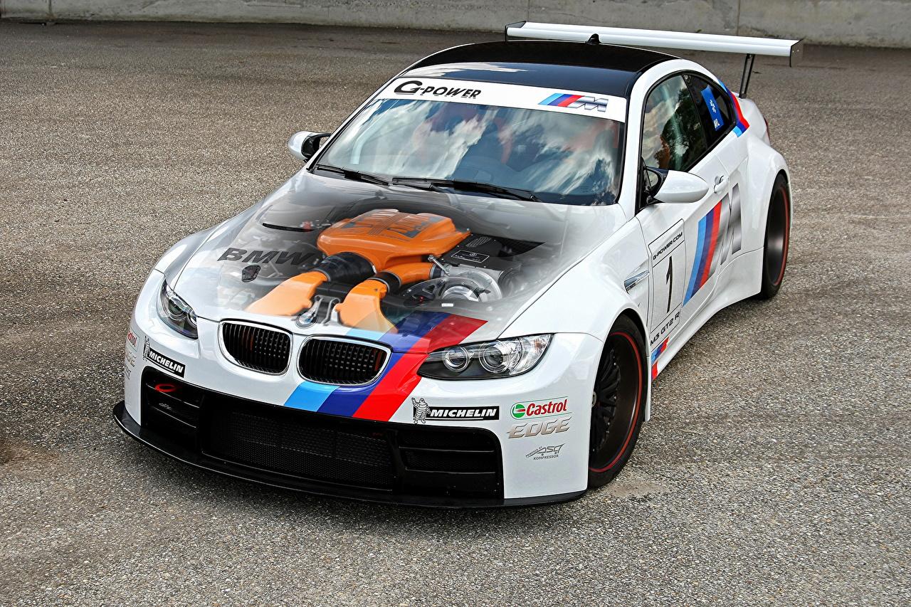Обои для рабочего стола БМВ 2013 G-Power M3 GT2 R M3 E92 Автомобили BMW авто машины машина автомобиль