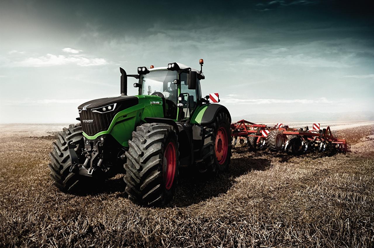 Картинка Сельскохозяйственная техника Трактор 2015-17 Fendt 1050 Vario Worldwide Поля