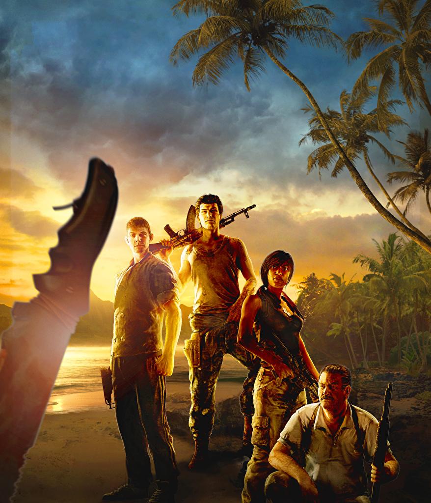 Фотография Far Cry 3 Мужчины Автоматы Игры