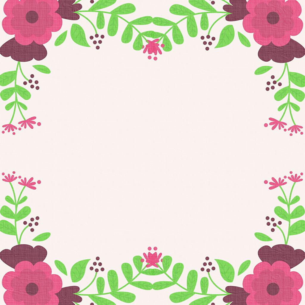 Фото Цветы ветвь Шаблон поздравительной открытки Рисованные цветок Ветки ветка на ветке