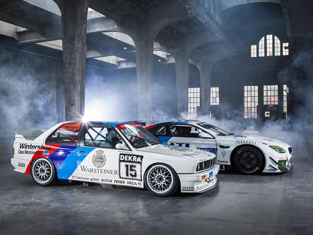 Фотографии БМВ Тюнинг M6 E30 Автомобили BMW Стайлинг Авто Машины
