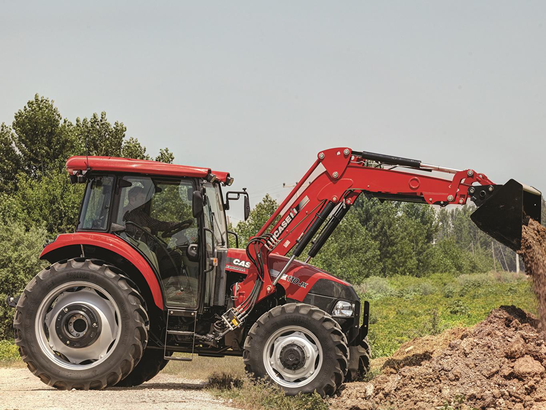 Картинка тракторы Ковшовый погрузчик 2013-19 Case IH Farmall 110JX Трактор трактора